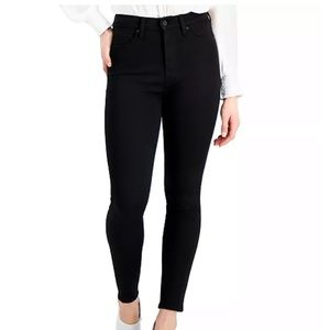 Kendall+Kylie skinny jeans high rise